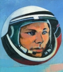 Yuri Gagarin by Walter Kershaw